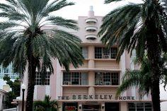 The Berkeley Shores Hotel and Apartments, 1610 Collins Avenue, Miami Beach. Old Florida, Miami Florida, South Florida, Art Deco Hotel, Miami Art Deco, Shore Club Miami, Usa Miami, Miami Beach Hotels, Magic City
