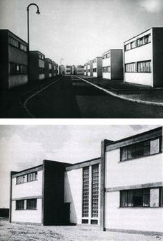 Bauhaus-Paysage urbain : La cité Törten