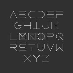Extra thin line style, linear uppercase modern font, typeface, minimalist style. Latin alphabet letters pinned by Font Styles Alphabet, Hand Lettering Alphabet, Alphabet Letters, Letter Fonts, Handwriting Styles, Alphabet Design, Graffiti Alphabet, Handwriting Fonts, Penmanship