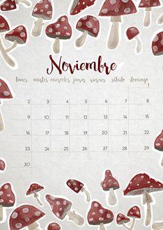 milowcostblog: calendario noviembre: imprimible y fondo