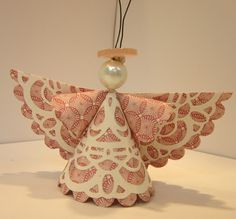 Just Sponge It: Angel Ornaments. I like the look of these paper angels, but I feel like I might assemble it differently for a class to make it easier. One style to think about.