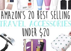 Travel on a budget with these must have items that are so cheap you can afford to get them all These Amazon best seller travel accessories are a must! Must Have Items, Boho Baby, Travel Essentials, Cool Suits, Travel Accessories, Pin Collection, How To Find Out, Budgeting, Collections