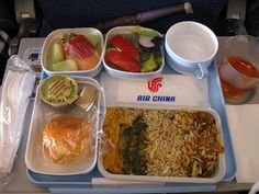 Rating Air China's In-Flight Meals