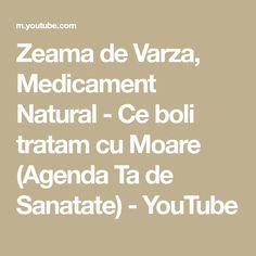 Zeama de Varza, Medicament Natural - Ce boli tratam cu Moare (Agenda Ta de Sanatate) - YouTube