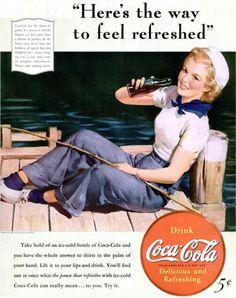 Coca Cola Ad, 1940