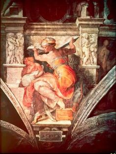 """HowStuffWorks """"Libyan Sibyl Within the Sistine Chapel Ceiling"""""""