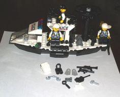 CUSTOM LEGO POLICE BOAT FOR SALE 11/18/14    http://www.ebay.com/sch/ilovelamp3689/m.html?item=111480139894&rt=nc&_trksid=p2047675.l2562