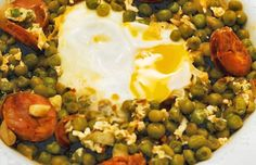 A very popular Portuguese dish, green peas and chouriço combines the wonderful…