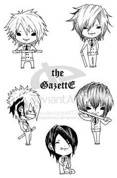 The GazettE Fan art