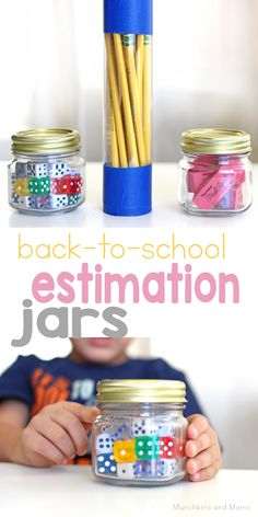 10 Estimation Jars Ideas Estimation Math Night Family Math Night