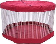 Marshall Small Animal Playpen Mat/Cover, 11 panel - Chewy.com