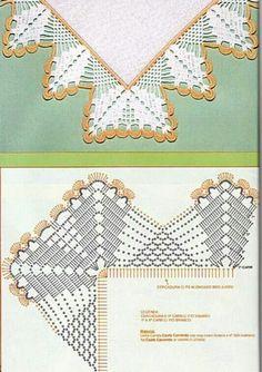 Captivating All About Crochet Ideas. Awe Inspiring All About Crochet Ideas. Col Crochet, Crochet Dollies, Crochet Lace Edging, Crochet Motifs, Crochet Collar, Crochet Trim, Filet Crochet, Crochet Shawl, Crochet Hooks