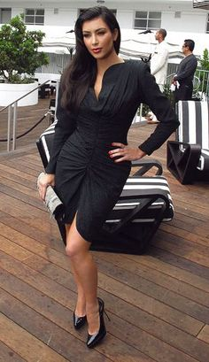 Kim Kardashian Fashion and Style - Kim Kardashian Dress, Clothes, Hairstyle - Page 142
