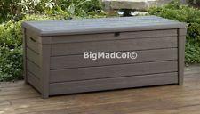ebay Keter Weatherproof Outdoor Garden Storage Bench Box Seat Wood Effect 454L NEW Garden Storage Bench, Outdoor Furniture, Outdoor Decor, Storage Chest, Outdoor Living, Deck, Organization, Cabinet, Wood