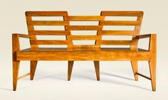 Buy online, view images and see past prices for GIO PONTI | Bench from the Palazzo Liviano, University of Padova, Italy. Invaluable is the world's largest marketplace for art, antiques, and collectibles.