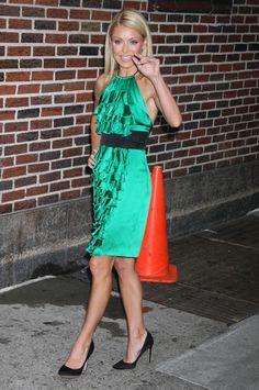 Kelly Ripa... she's always so feminine, dainty and always has on great shoes