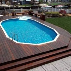 Pool Deck Designs With Steps , Swimming Pool Deck Designs In Landscaping And Outdoor Building Category