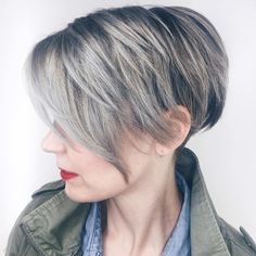 50 Charming Long Pixie Cuts for Any Taste - Hair Adviser - Best Haircuts and Hairstyles for Women in 2019 Pixie Cut Styles, Long Pixie Cuts, Short Hair Cuts, Short Hair Styles, Choppy Pixie Cut, Long Pixie Hairstyles, Short Pixie Haircuts, Straight Hairstyles, Scene Hairstyles