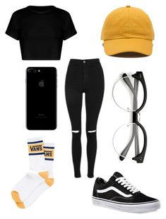 """""""vans"""" by qimmig on Polyvore featuring Vans and Topshop"""