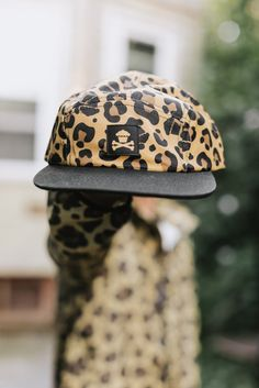 eb30144273179 BUY HERE  Johnny Cupcakes Leopard 5 Panel Hat Johnny Cupcakes