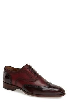 Johnston & Murphy 'Nolen' Wingtip Oxford (Men) | Nordstrom