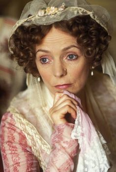 Mrs. Bennet  - Alison Steadman in the BBC adaptation (1995). Great portrayal of the character, perfect comedy timing.