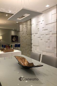 Kitchen Decor, Kitchen Design, Decorative Wall Tiles, 3d Wall Panels, Elegant Living Room, Loft Design, Living Room Designs, 3 D, Sweet Home