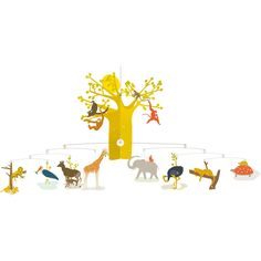 Djeco African Savannah Mobile  £19.99  This is surely one of Djeco's most amazing mobiles?