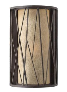 Fredrick Ramond FR41612 1 Light Wall Sconce from the Nest collection Oil Rubbed Bronze Indoor Lighting Wall Sconces