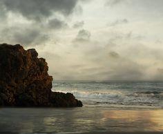 Landscape Photography California Coast Modern  16x20 SeaScape Fine Art Photograph via Etsy