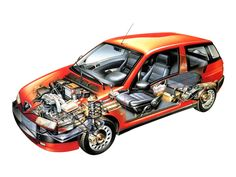 1994-99 Alfa Romeo 145 (930A) - Illustrator unknown