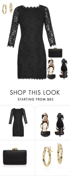 """""""Untitled #3775"""" by injie-anis ❤ liked on Polyvore featuring Diane Von Furstenberg, Nine West, Kayu and Blue Nile"""