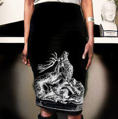 #jamesanthonyapparel.com  #Skirt                    #Modal-Cotton #Pencil #Skirt #feat. #Stag #print #James #Anthony #Apparel #James #Anthony #Apparel      Modal-Cotton Pencil Skirt feat. Stag print by James Anthony Apparel | James Anthony Apparel                                       http://www.seapai.com/product.aspx?PID=75095
