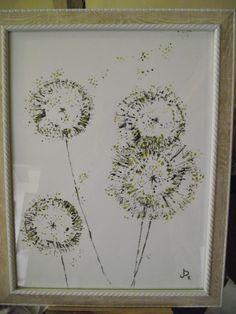 Dandelion clocks for Lisa