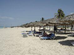 A Cuban paradise Enjoy the paradise of Cuba, especially Varadero beach and get a discount to stay with airbnb. click the link: Varadero Cuba, Cuba Travel, Cuban, Sun Lounger, Paradise, Island, Link, Beach, Outdoor Decor