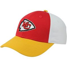 a164720d49a Kansas City Chiefs Toddler Color Block Adjustable Hat - Red Gold White
