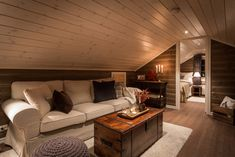 Cabin, Couch, Places, Interior, Room, Furniture, Home Decor, Diy, Patio