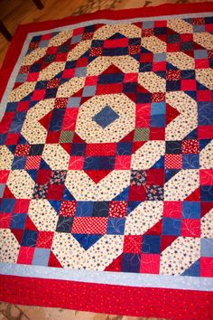 From a Bonnie Hunter's July 4 pattern (free on her website)