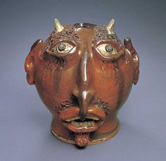 Face Jug Devil, American Folk Art Museum
