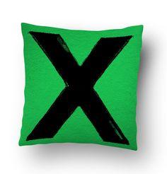 Ed Sheeran Blog Thingy Pillow Cover