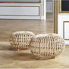OTTOMAN natural pouf S designed by By Franco Albini and Franca Helg and manufactured by Sika design. COLONEL shop, decoration and contemporary furniture in Paris. Rattan Ottoman, Tufted Ottoman, Kardashian, Sustainable Furniture, Hipster, Leather Pouf, Cocktail Ottoman, Handmade Furniture, Zimbabwe