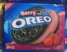 Youll Be Shocked By These Six Crazy Oreo Flavors (and Whats In Them) - Food Meme - berry oreos The post Youll Be Shocked By These Six Crazy Oreo Flavors (and Whats In Them) appeared first on Gag Dad. Weird Oreo Flavors, Pizza Flavors, Cookie Flavors, Unique Recipes, Sweet Recipes, Snack Recipes, Oreos, Food Humor, Food Meme