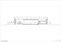 Gallery - Lardy Sports Hall / Explorations Architecture - 15