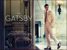Brook Brothers, responsible for over 500 men's outfits from The Gatsby offer a 1920's collection including linen suits and Made in England shoes.