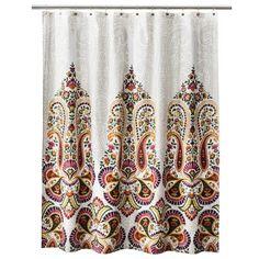 Mudhut™ Samovar Shower Curtain -Cream : Target Mobile