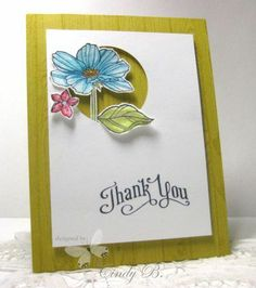 stampin up peaceful petals images | Using Peaceful Petals from Stampin' Up! Cindy Beach Stamps, Paper, and ...