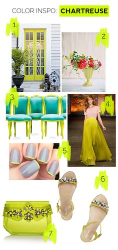 Color Inspo: Chartreuse Green
