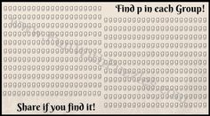 Find the hidden letters p in the picture