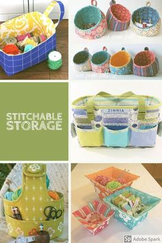Stitch your own storage Not just another sewing blog