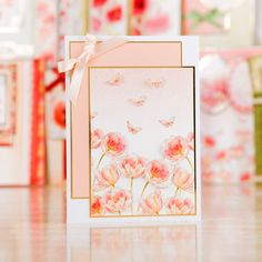 Hunkydory Ultimate Poppy Garden Collection - 141 pieces - Includes Luxury Card Collection, Luxury Inserts and Speciality Paper Pad (141868) | Create and Craft